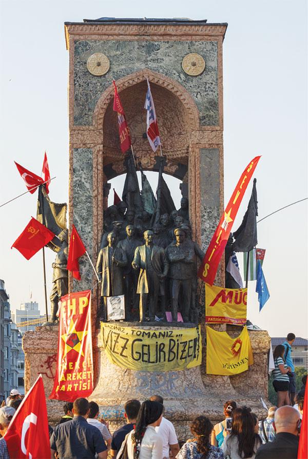 Gezi2 heykel 1. AÇIK TOPLUM İDEOLOJİSİ VE SOROS VAKFI