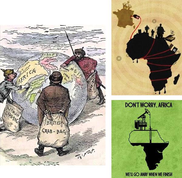 Afrika2 İNGİLİZ DERİN DEVLETİ VE SÖMÜRGECİLİK ZULMÜ