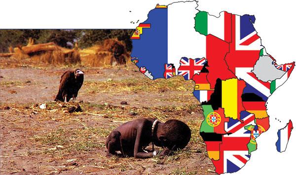 AfrikaAclik İNGİLİZ DERİN DEVLETİ VE SÖMÜRGECİLİK ZULMÜ