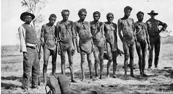 AvustralyaAborjin2 4 İNGİLİZ DERİN DEVLETİ VE SÖMÜRGECİLİK ZULMÜ