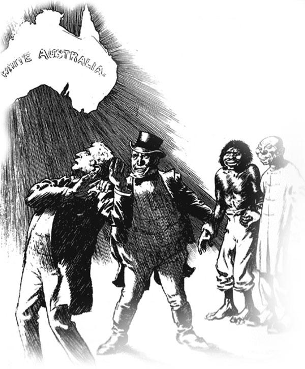 BeyazAvustralya İNGİLİZ DERİN DEVLETİ VE SÖMÜRGECİLİK ZULMÜ