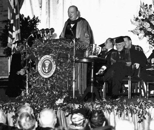 Churchill demirperde konusmasi AB VE NATODA İNGİLİZ DERİN DEVLETİ