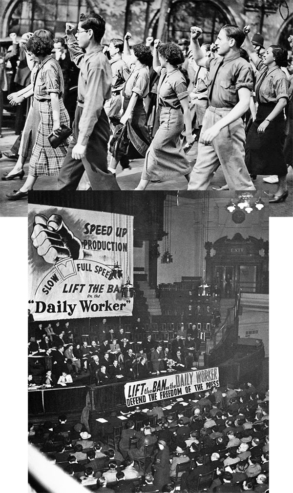 Ingilterede komunizm 1946lar AB VE NATODA İNGİLİZ DERİN DEVLETİ