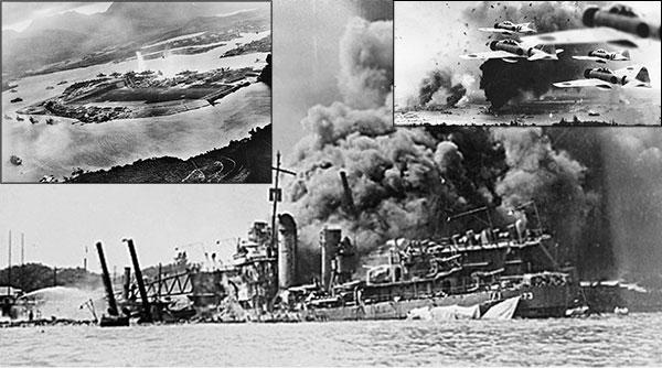 Pearl Harbour ABDNİN SAVAŞA SÜRÜKLENMESİ