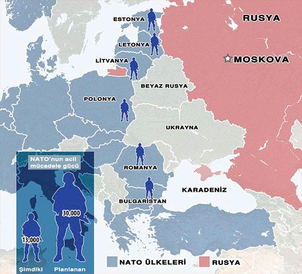 nato rusya harita AB VE NATODA İNGİLİZ DERİN DEVLETİ